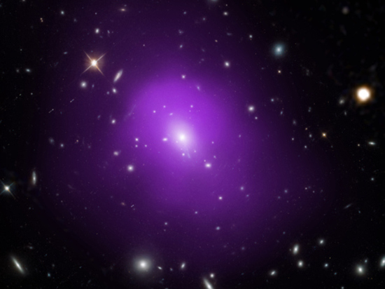 Тёмную материю и энергию объявили жидкостью с отрицательной массой