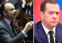 Интересно сравнить сегодняшний «Разговор с Дмитрием Медведевым» и недавнее выступление французского премьера Эдуара Филиппа