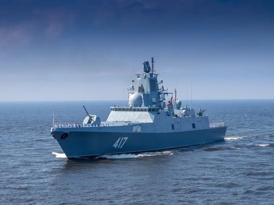 Новейший фрегат «Адмирал Горшков» отстрелялся «Калибром»