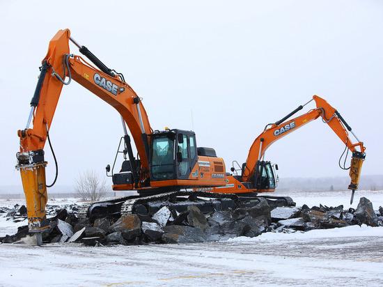 В аэропорту Челябинска началось строительство нового аэродрома