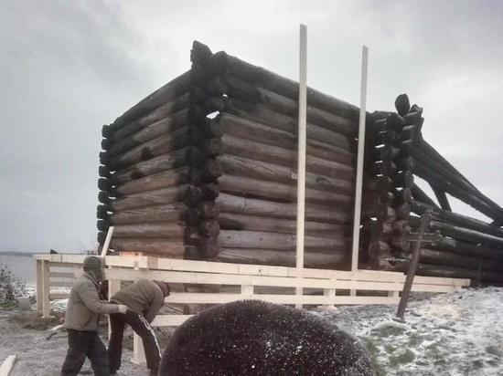 Над останками Успенки начали строить укрытие