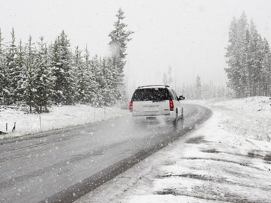 В Воронеже из-за тумана и мокрого снега объявили желтый уровень опасности