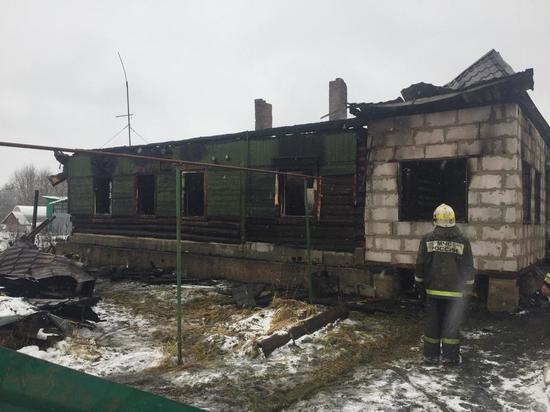 СК проводит проверку по факту гибели мужчины при пожаре под Калугой