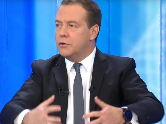 """Лукавые цифры премьера Медведева: о чем умолчал ДАМ в """"Разговоре"""""""