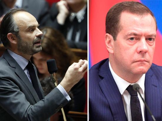 Сравните вялое выступление Медведева с пламенной речью премьера Франции