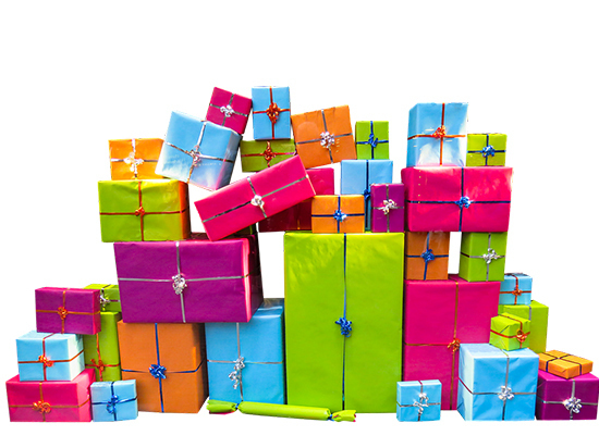 Популярные подарки к праздникам
