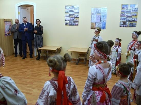 Сергей Морозов и Радик Харисов посетили старейшую музыкальную школу города