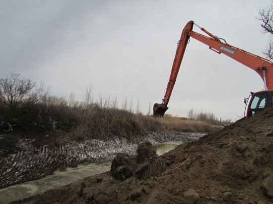 Ерики и протоки Волгоградской области наполнились водой