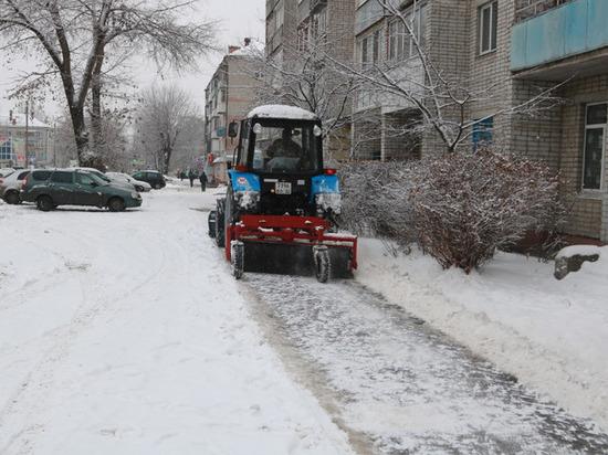 С улиц Брянска вывезли миллион килограммов снега