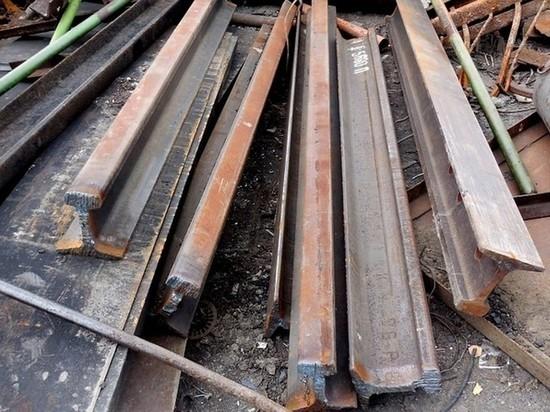 Трое калужан украли рельсы с железной дороги