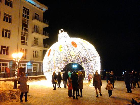 Блогеры назвали Пермь новогодней столицей Урала
