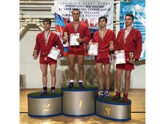 Самбист из Серпухова стал победителем турнира городов России