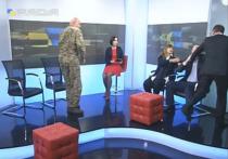 Украинские депутаты подрались в прямом эфире