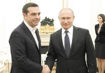 Путин помирился с премьером Греции без театральных жестов