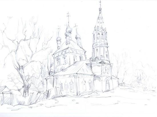 В Серпухове туристы могут увидеть свою пизанскую башню XVII столетия