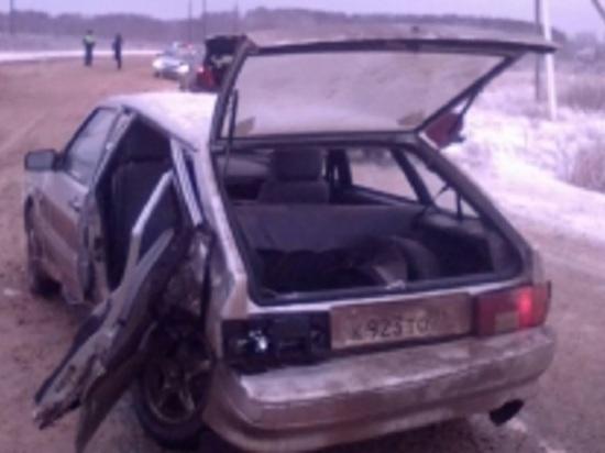 В Ивановской области столкнулись два «ВАЗа», травмировано двое детей