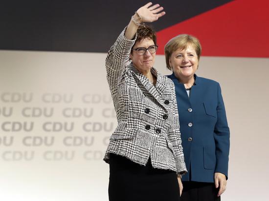 Вместо Меркель главой ХДС избрали ее мини-версию