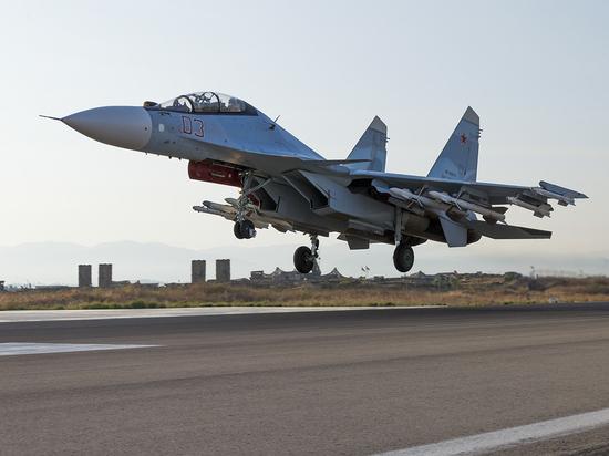 За неделю российские истребители трижды поднимались на перехват у границ