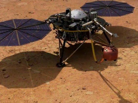 NASA впервые представило ролик с шумом ветра на Марсе