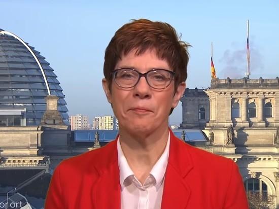 Преемником Меркель в ХДС стала Аннегрет Крамп-Карренбауэр