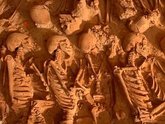 В центре Москвы обнаружили кладбище 17 века