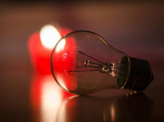 В Тамбове на выходных отключат свет