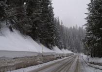 На горных дорогах Ялты запретят проезд в гололед