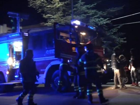 Появилось видео последствий чудовищной давки на рэп-концерте в Италии