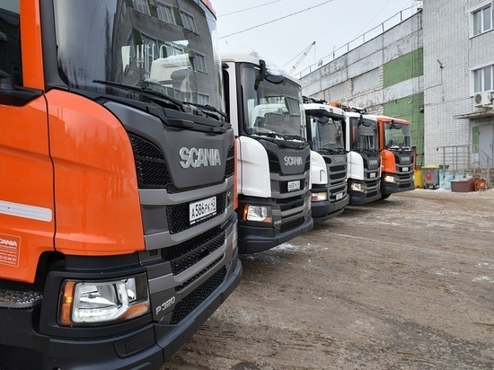 В Кирове появились новые мусороуборочные машины