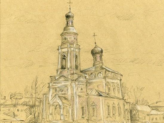 В подмосковном Серпухове сохранился уникальный храм-воин