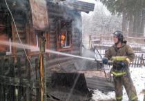 Специалисты устанавливают причину очередного пожара в Тульской области