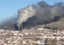 Столярные мастерские ВСЖД горели в Усть-Куте