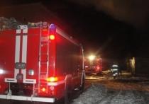 Погорельцы лишились дома при пожаре под Тулой