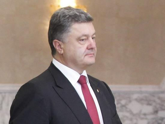 Порошенко потребовал закрыть от России порты США и Европы
