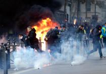 Кремль ответил на обвинения в причастности к протестам во Франции
