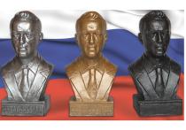 Мерч Навального: в продаже появились его позолоченные бюсты
