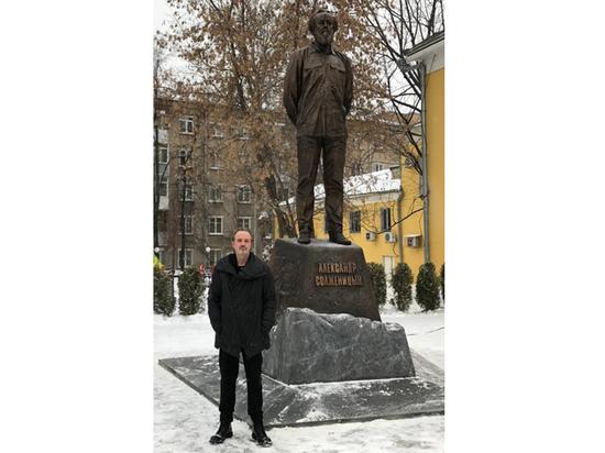 """Автор памятника Солженицыну: """"Важно было создать образ гражданина"""""""