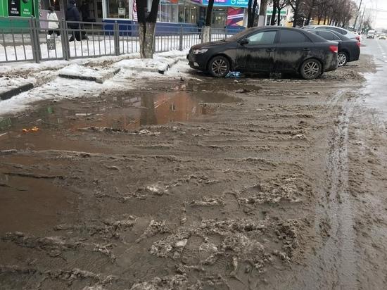Снегопад обнажил странности тульского парковочного пространства