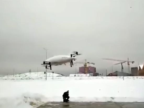 Шнуров высмеял рухнувшее в сугроб аэротакси за 12 миллионов