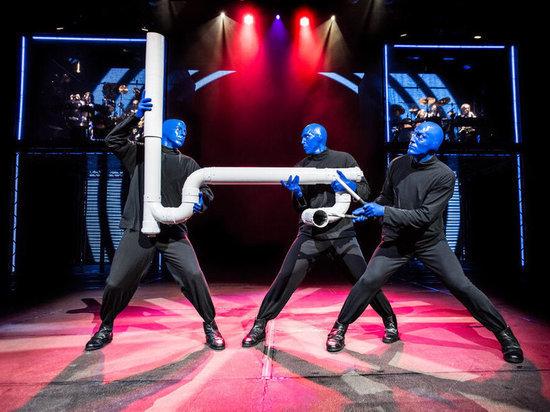 Впервые в Казани: Blue Man Group покажет шоу синеголовых