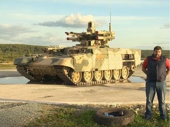 Российские боевые «Терминаторы» отправились в Африку