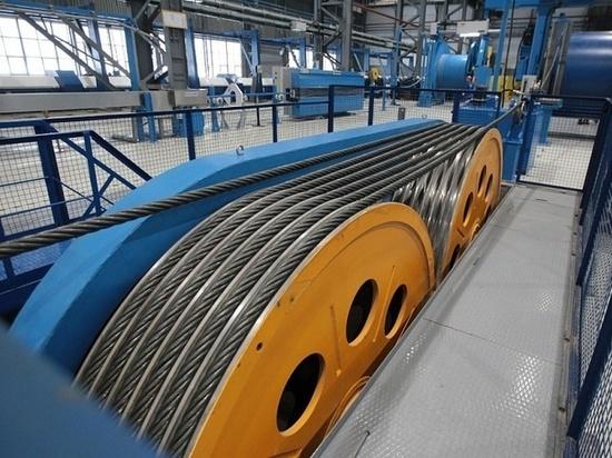 Радий Хабиров открыл в Башкирии цех по производству многопрядных канатов