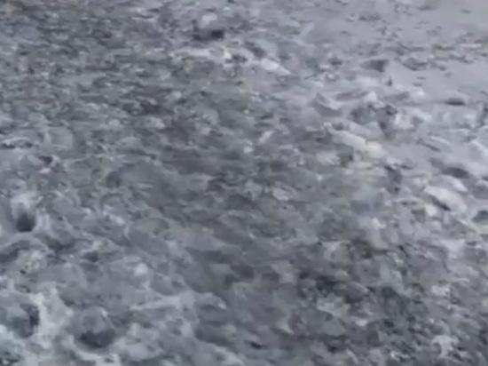 В Ивановской области выпал снег черного цвета