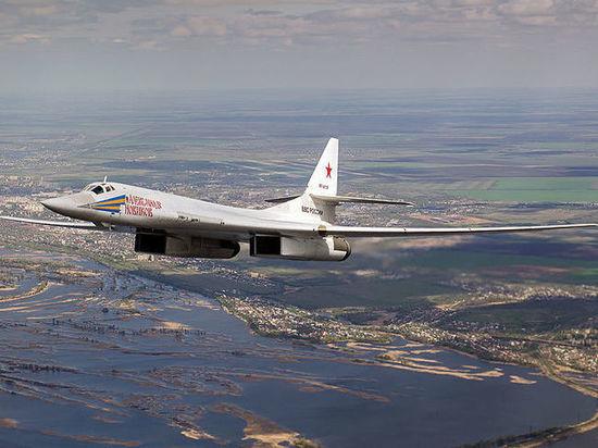 Обнародовано видео приземления Ту-160 в Венесуэле