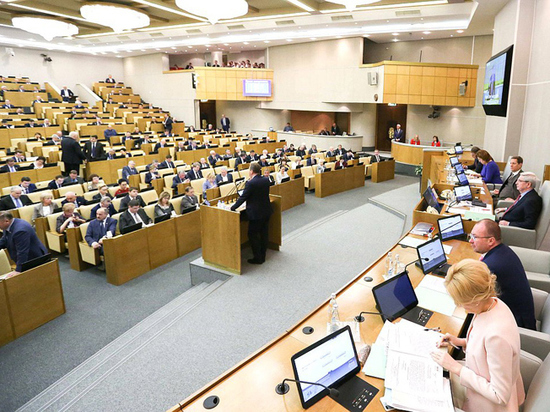 Дума одобрила законопроект о наказании депутатов