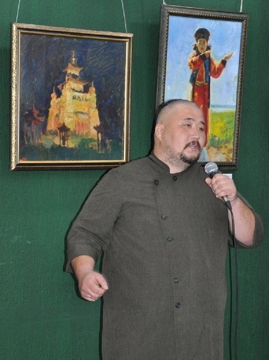 В Элисте открылась выставка калмыцкого художника Тимура Цонхлаева