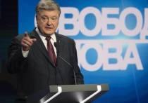 Порошенко впал в истерику и обвинил Путина в развязывании войны