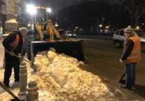 Зимой нас не возьмешь: как воронежские коммунальщики боролись со снегопадом