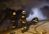 В Волгограде сгорела кухня, пострадал человек