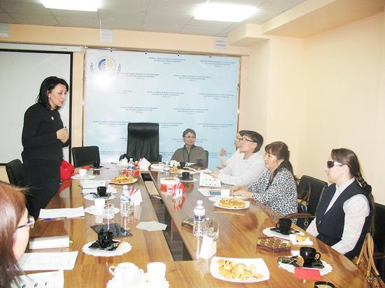 Инвалидам Бурятии рассказали о проектах в социальном страховании